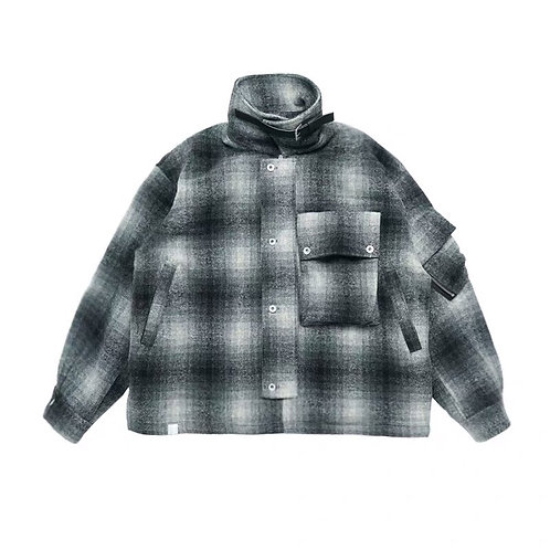 "ATTEMPT AW19 ""PAIDS&CHECKS"" JACKET"