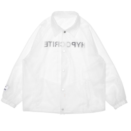 HYPOCRITE CLEAR COACH JACKET