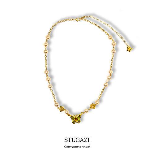 STUGAZI Champagne Angel Necklace
