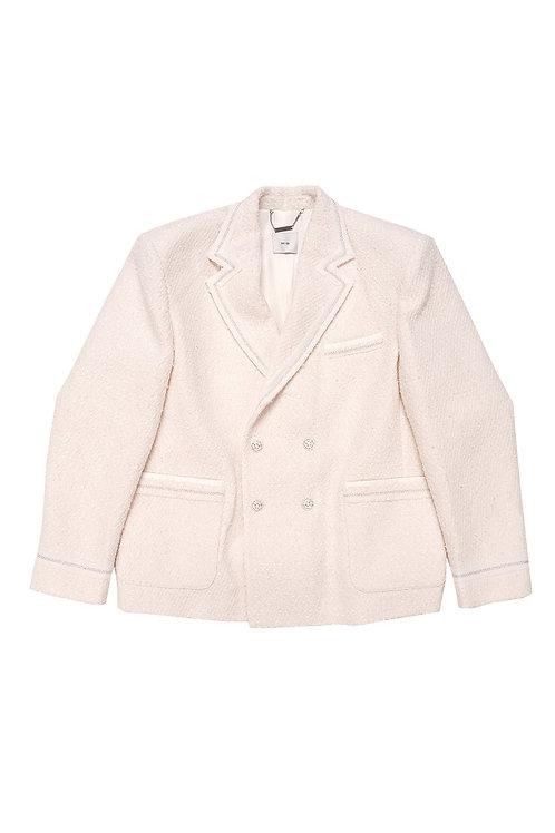 SUGI Tweed Double Breasted Jacket