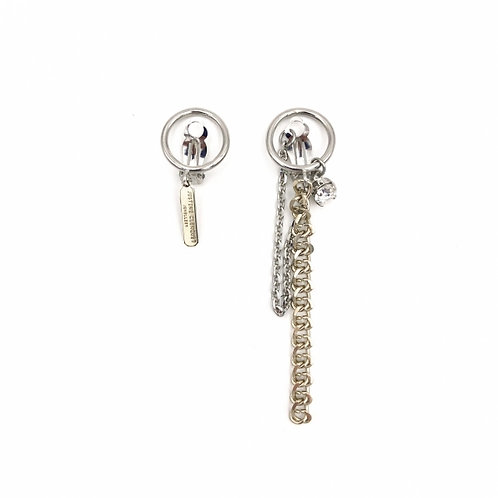 JUSTINE CLENQUET Chen Clip Earrings