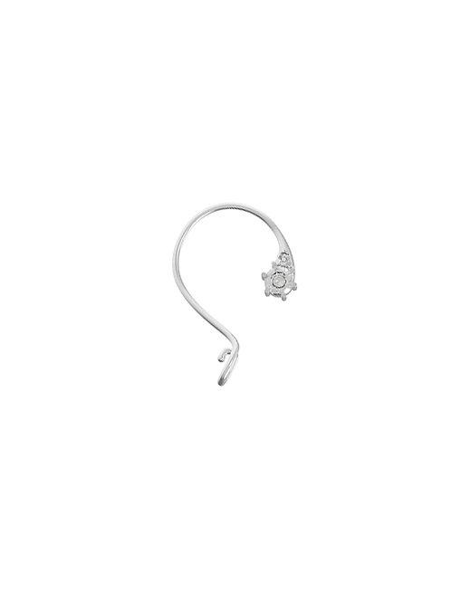51 E JOHN Spy Collection Ear Cuff Clip Single Earring 045-1