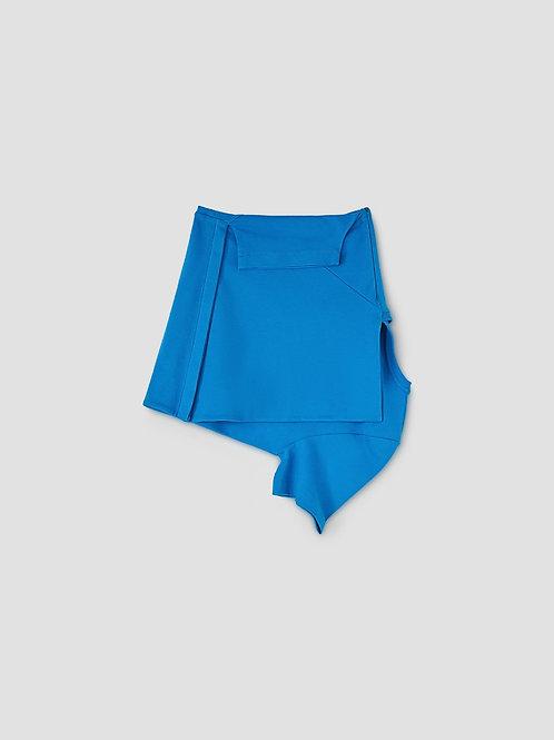 LOURDES Pisco Skirt Blue