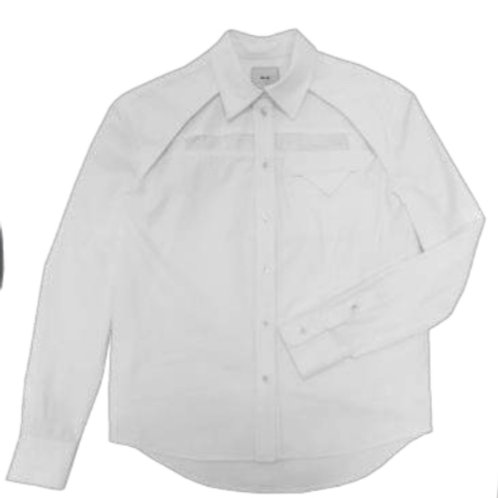 SUGI Front Cut-out Shirt