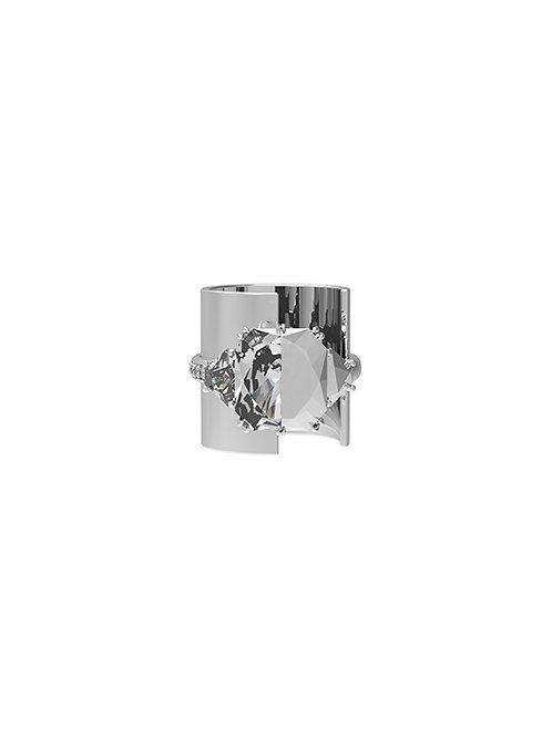 51 E JOHN Deconstruction Half-Cut Ring 024