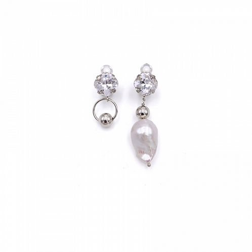 JUSTINE CLENQUET Laurie clip earring