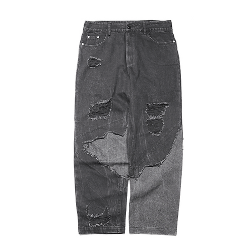 "ATTEMPT AW19 ""DESTROY"" JEANS"
