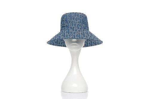 LAURENCE AND CHICO Chichi Laulau Jacquard Bucket Hat - Big Brim