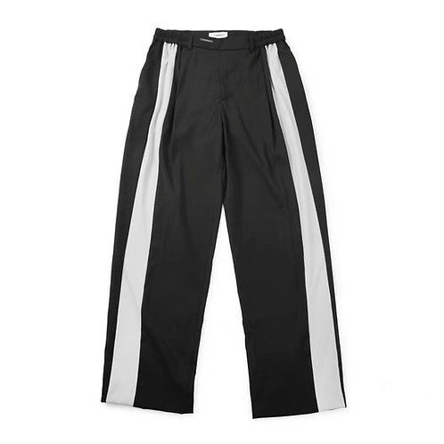 UNAWARES FW19 LOOSE-STRIPED TROUSERS