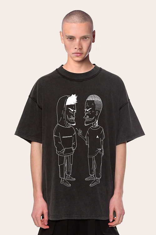 "ARNODEFRANHCE T-Shirt Vintage ""Billy&Baku"""