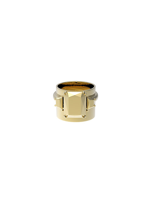51 EJOHN Deconstruction Collection Enbossing Ring 025