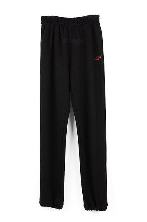 51 PERCENT Sweatpants Black