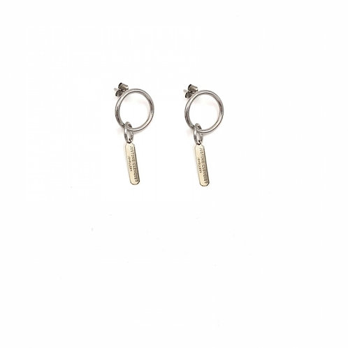 JUSTINE CLENQUET Chen Earrings Pair
