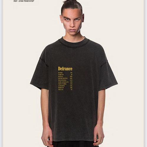 """ARNODEFRANCE T-Shirt """"Defrance Cites"""""""