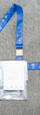 CENTRAL SYSTEM / PVC UTILITY POUCH / BLUE
