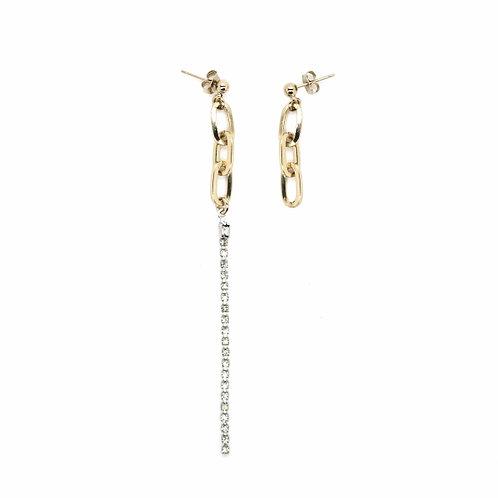 JUSTINE CLENQUET Kirsten earrings
