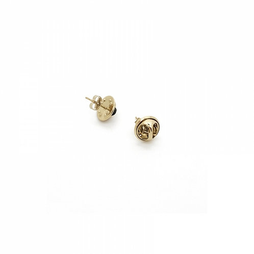 JUSTINE CLENQUET Lola Earrings - Pale gold