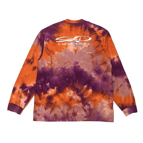 "ATTEMPT SS19 ""SIDE EFFECT"" WARM TIE DYE Long Sleeves"
