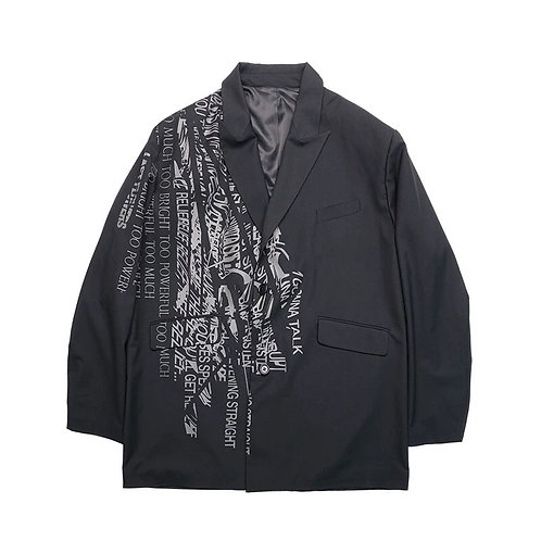 "ATTEMPT AW19 ""LAST FLOWER"" PRINTED BLAZER"