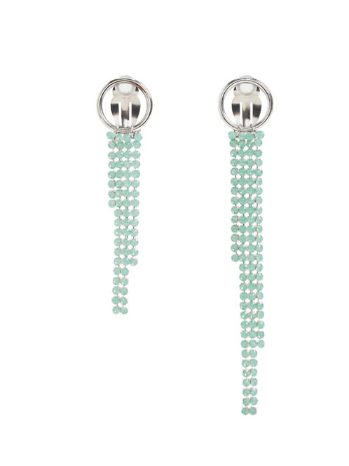 JUSTINE CLENQUET Clip On Earring