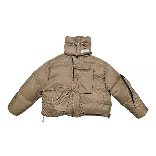 """ATTEMPT AW19 """"CLOISTER FABRIC"""" DOWN JACKET"""