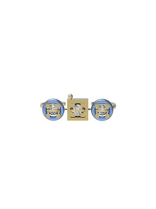 51 E JOHN Dental Collection Brace Separatable Ring 035