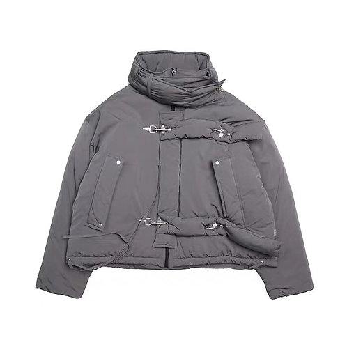 "ATTEMPT AW19 ""METAL FASTENERS"" COTTON JACKET"