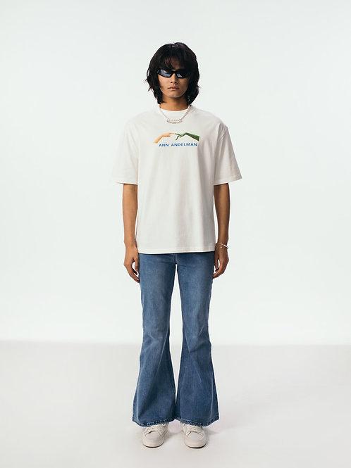 ANN ANDELMAN E.T  Finger  T Shirt