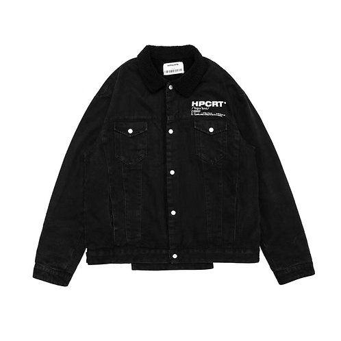 HYPOCRITE FW18 LAMB WOOL DENIM JACKET