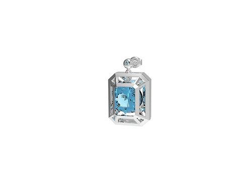 51 E JOHN CONSTRAINT COLLECTION Movable Single Diamond Earrings
