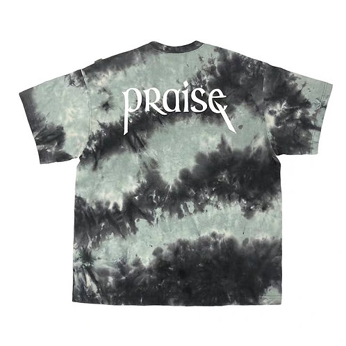 "ATTEMPT SS19 ""SIDE EFFECT"" PRAISE TIE DYE T-Shirt"