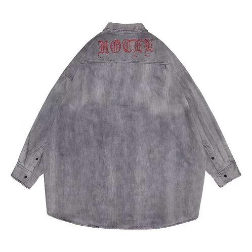 HYPOCRITE SS19 RHINESTONE Denim Shirt