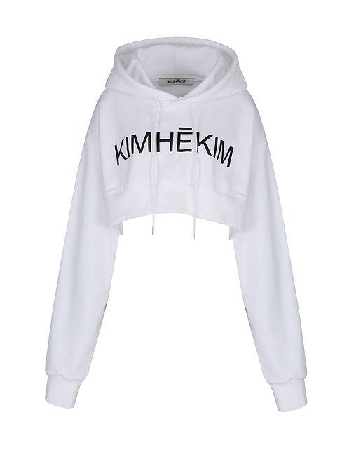 KIMHEKIM Logo Crop Hoodie