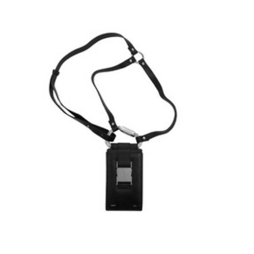 HELIOT EMIL Leather Carabiner Phone Sling