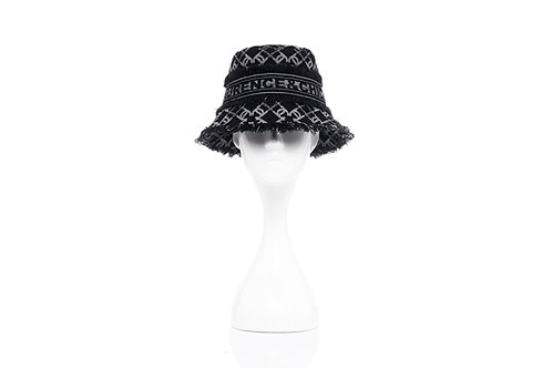 LAURENCE AND CHICO LC Logo Bucket Hat - Small Brim
