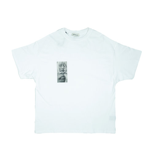 ARNODEFRANCE Inside-out T-Shirt White Print