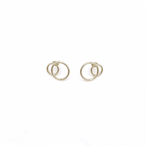 JUSTINE CLENQUET Gale gold earring