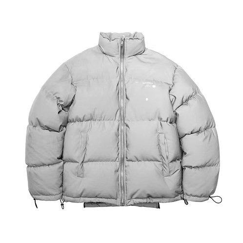 HYPOCRITE FW18 DECONSTRUCTED DOWN JACKET Irregular cut down jacket