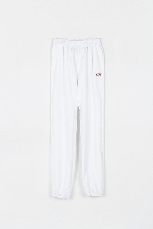 51 PERCENT Paneled Pants White