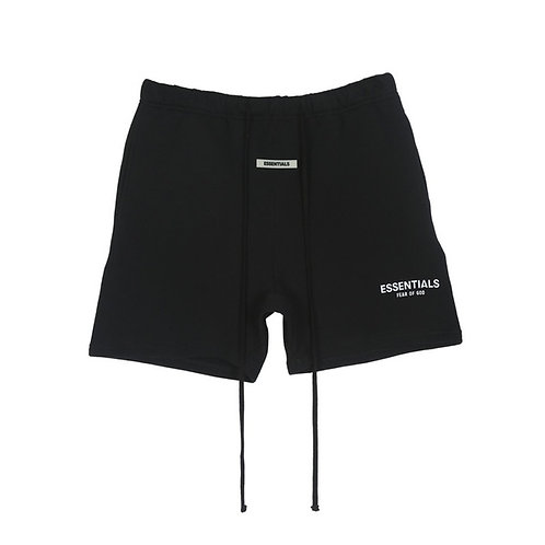 ESSENTIALS 3M Reflective Letter Embroidered Shorts Me