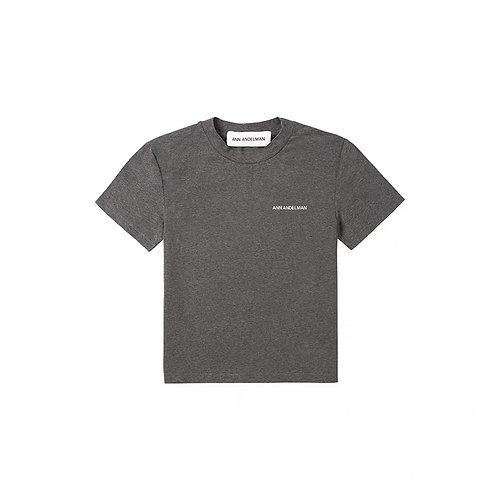 ANN ANDELMAN Logo Slim Fit T Shirt