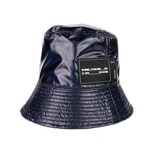 WE11DONE  New Rubber Patch Bucket Hat