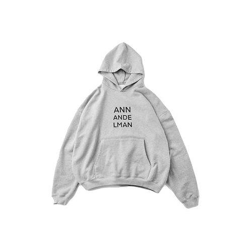 ANN ANDELMAN Logo Double Wear Hoodie