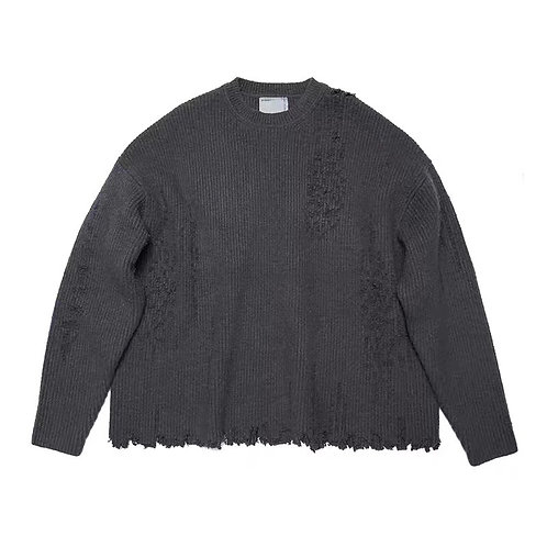 ATTEMPT AW19 DESTROY AND MOHAIR SWEATER