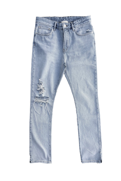 ASKYURSELF Phrase Destroyed 90s Denim Jeans