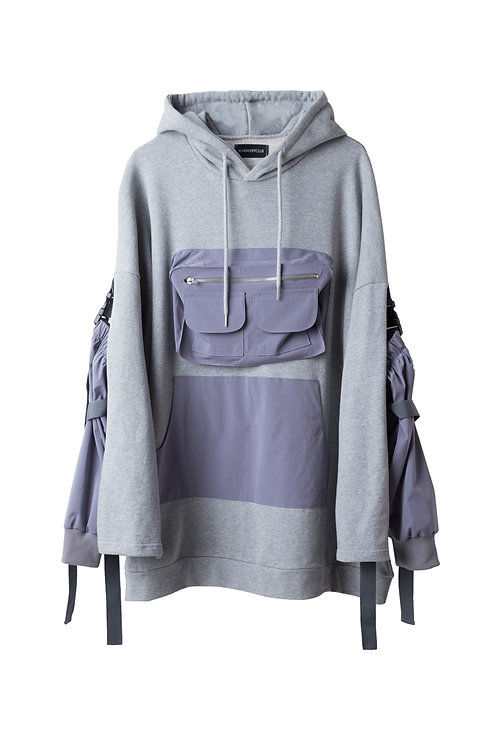 SUNDAY OFF CLUB DETACHABLE ARM COVER HOODIE