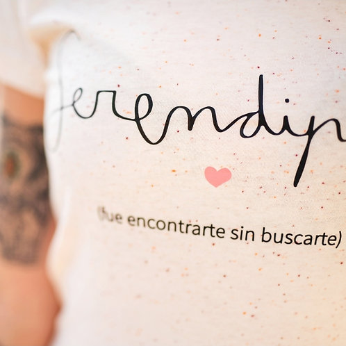 """Camiseta """"Serendipia"""""""