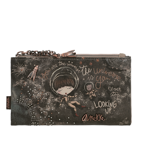 CARTERA BILLETERO CON MONEDERO ANEKKE UNIVERSE SPACE 31702-07-907UNC