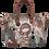 Thumbnail: BOLSO SHOPPER CON ASA BANDOLERA EXTRAIBLE ANEKKE IXCHEL MUSIC 32710-01-003