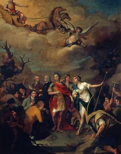 Alegoria-Carlos-III-entregando-las-tierr